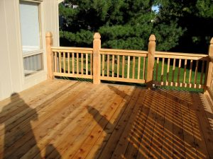 Associated Siding and Remodeling Omaha cedar deck