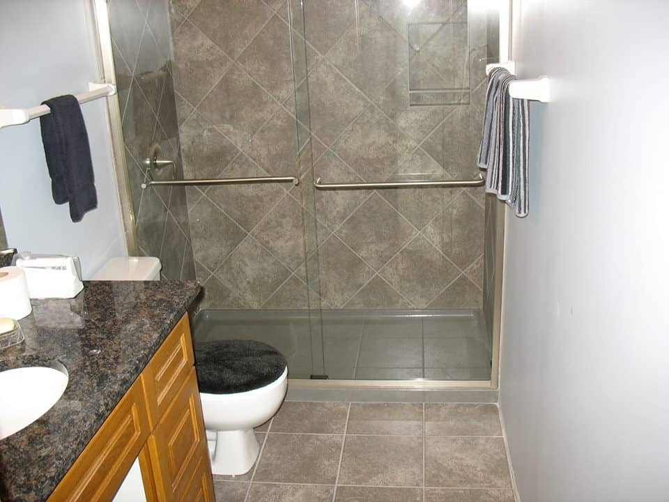 Bathroom Remodel Omaha Simple Bathroom Remodel  Associated Siding And Remodeling Omaha Nebraska Design Inspiration