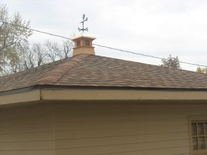 Cooper top Cupola and Hail Damage Roofing Replacement Associated Siding and remodeling omaha