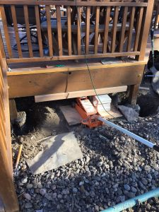 Jacking up your Deck Omaha Associated Siding Builds Decks Omaha Council Bluffs