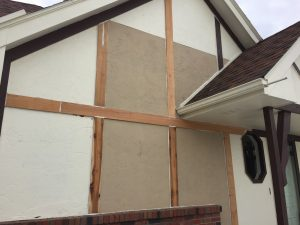 Stucco siding repair in Omaha