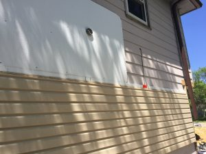 Insulation under Mastic vinyl siding
