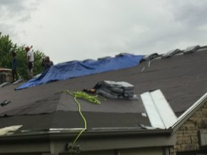 Replacing a roof in Omaha