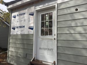 new Revere steel siding