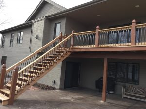 Deck repair and replacement as needed