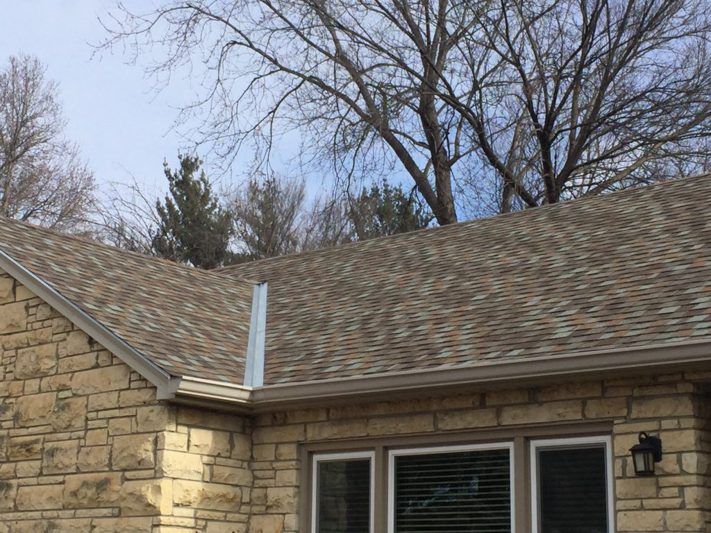 Roof Replacement Using Tamko Omaha Associated Siding And