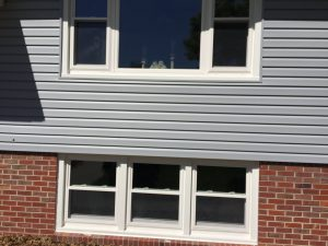 Mastic vinyl siding and Revere vinyl window installation in Omaha