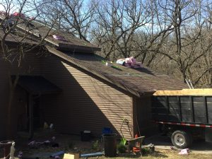 new roof by Springfield Ne