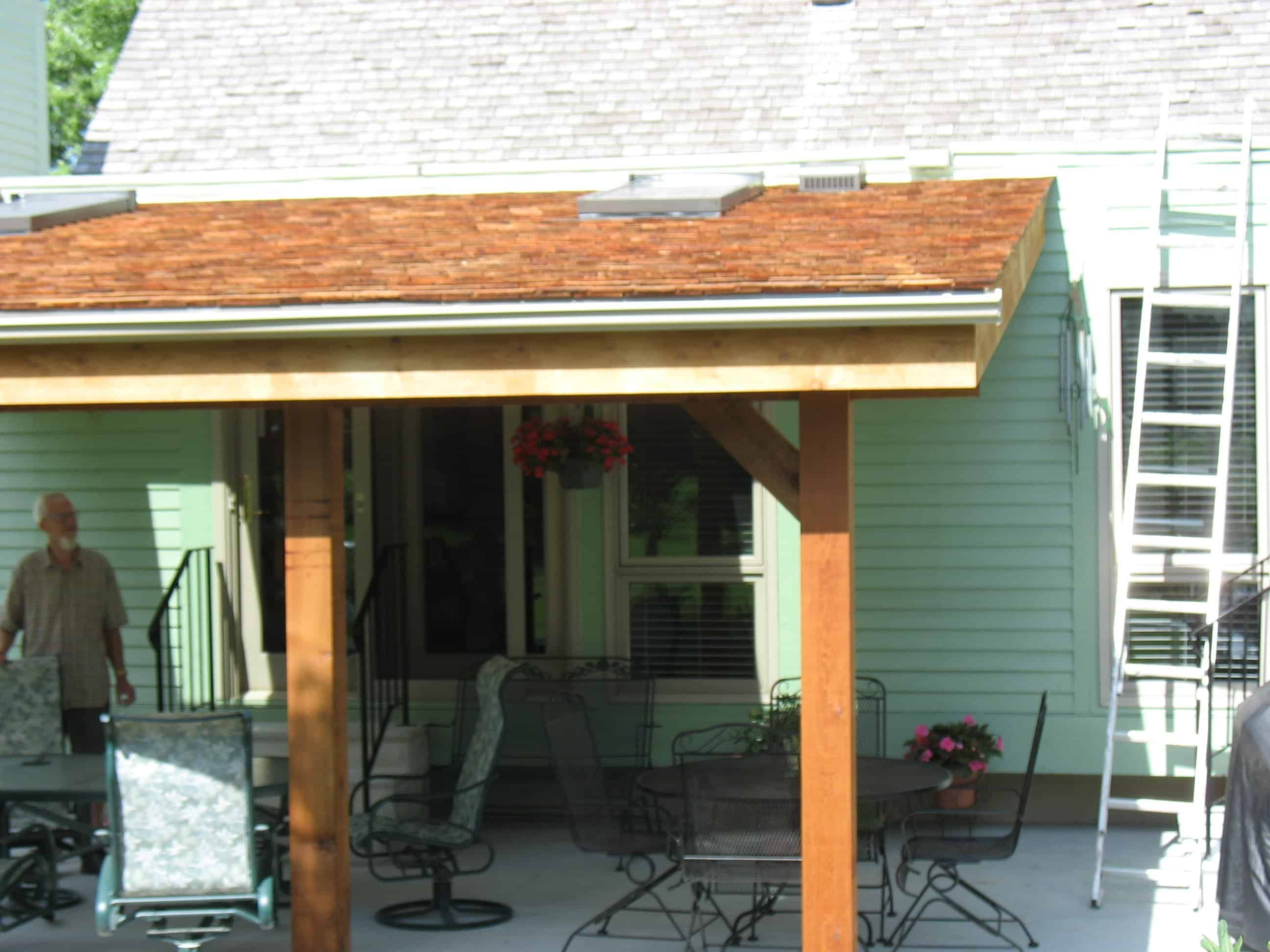 Red Cedar Deck Associated Siding And Remodeling Omaha