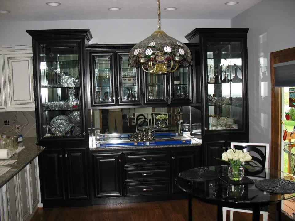 Fancy Upscale Butler Cabinet In Omaha