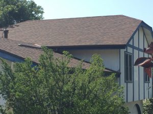 New roof in Bellevue NE from wind damage