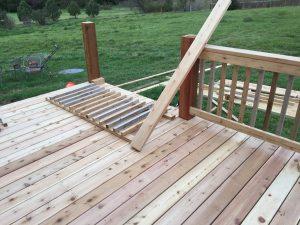 how to build a Cedar deck in Omaha