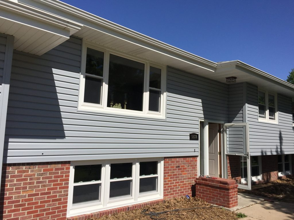 New Mastic vinyl siding in Omaha