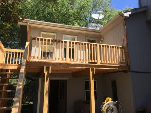 All Cedar deck in Omaha